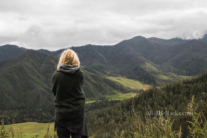 Women in the hills